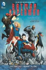 Batman/Superman Game Over Vol. 2 by Greg Pak DC 2014 Hardcover NEW SEALED