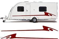 camping-car / Caravane VINYL Graphique Kit Stickers autocollant rayures #02XL