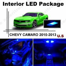 Blue LED Lights Interior Package Kit for Chevy Camaro 2010-2013  ( 5 Pieces )