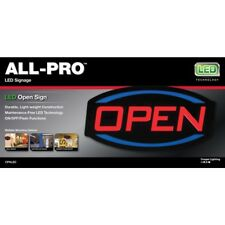 All-Pro 9-in Multi-Function Led Open Neon Sign