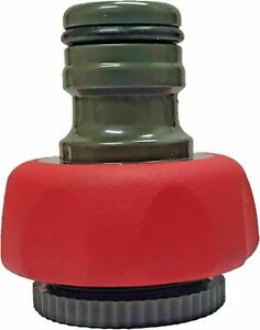 """Thermoplastic rubber TPR Garden lawn Water Hose fitting Tap adaptor 18mm 3/4"""""""