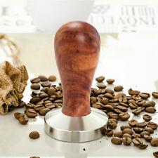 Edelstahl Kaffee Hammer Tamper Werkzeug Espresso Base Presse Pulver Kapse 58mm