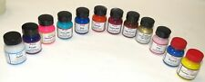 Angelus Leather Paint Starter Set of 12 - 1oz. Assorted Colors