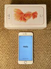 Apple iPhone 6s 64GB - Rose Gold - Inc. Box & Earphones Factory Settings - VVGC