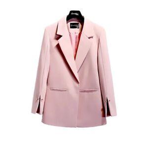 Plus Size Women's Pink Spilt Sleeve Blazer Size L l XL