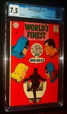 WORLD'S FINEST COMICS #176 1968 DC Comics CGC 7.5 VF- Superman Batman