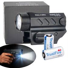 Garberiel G03 LED Tactical stund Gun Flashlight Pistol Torch Light 16340 Battery