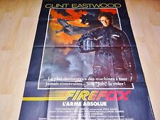 clint eastwood FIREFOX ! affiche cinema  :-
