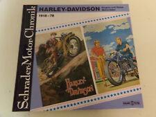 Harley Davidson Sportster Super Glide SXT 125 * Elect * Schrader Motor Chronik