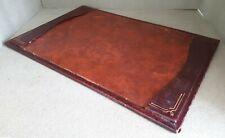Vintage Leather Desk Blotter 48 x 32 cms