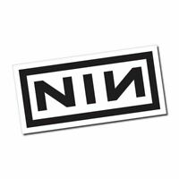 Nine Inch Nails Sticker / Decal - NIN Rock Band Music Car Laptop CD Album