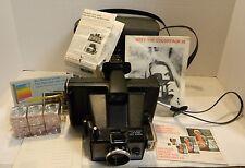 Vintage Polaroid Colorpack III Camera in Original Case w/ Original Paperwork Exc