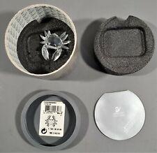 Swarovski Silver Crystal 1996 Crab 206481 7642 004 Retired Coa