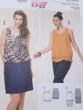 Burda Sewing Pattern 6913 Ladies Misses Dress Top Size 8-20 Uncut