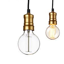 [Lux.Pro] Hängeleuchte Lampenfassung Deckenleuchte Edison Retro Pendelleuchte