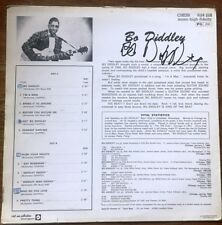 BO DIDDLEY Originally In-Person Signed Album Covers