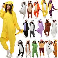 New Adult One-piece Kigurumi Animal Cosplay Pyjama Costume Fancy Dress Sleepwear