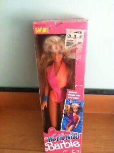 Vintage 1989 Wet n Wild Barbie doll