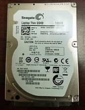 "SEAGATE ST500LM000 500GB SATA 2.5"" LAPTOP THIN SSHD HYBRID Guaranteed TESTED"