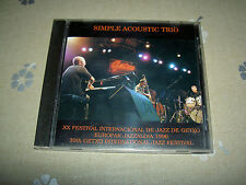 CD Simple Acoustic Trio – XX Festival Internacional De Jazz De Getxo