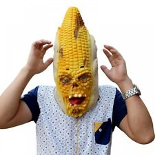 Halloween Props Party Mask Scary Burn Corn Monster Mask Halloween For Cosplay