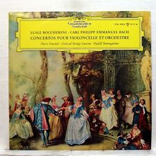 PIERRE FOURNIER - BOCCHERINI & CPE BACH cello concertos DGG LP EX++