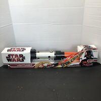 Star Wars Force Action Red Lightsaber Darth Vader NEW Factory Sealed