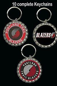 Portland Trail Blazers keychain key rings favors 10 loot bag birthday basketball