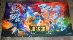 2018 POKEMON TRADING CARD GAME GAMING MAT DRAGON MAJESTY JUST AS PICTURED NEW
