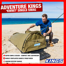 Adventure Kings Bg Daddy Single Swag 750mm 'Kwiky Tent Dome
