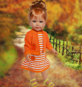 Kennedy and Friends™ Ryan with Fall Outfit- 18 Inch Fashion Doll