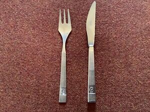 Vintage Early CONCORDE Cutlery ARTHUR PRICE Knife and Fork