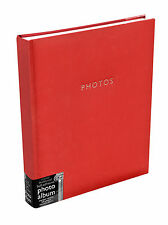 Deluxe Large Red Self Adhesive Photo Album Hold Various Sized Photos  50Pages