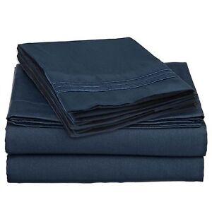 DEEP POCKET 1600 THREAD COUNT SERIES 4 PIECE BED SUPER SOFT SHEET SET ALL SIZES