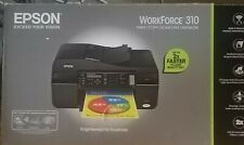 EPSON WorkForce 310 All-In-One Color Inkjet Printer: PRINT/COPY/SCAN/FAX/NETWORK