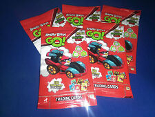 5 Packs Of Angry Birds Go! Giro Max Trading Cards