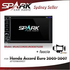 SP CARPLAYER ANDROID AUTO DVD SAT NAV IPOD BT FOR HONDA ACCORD EURO 2003-2007