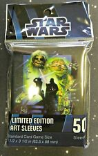 Star Wars FFG Standard Destiny Size Card Sleeves 50 count Return of the Jedi
