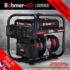 Inverter Petrol Generator - i2500W 2.0KW - Quiet Electric Portable Camping Power