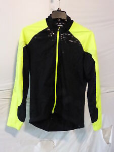 Louis Garneau Glaze 3 RTR Jacket - Men's XL Black/Yellow retail $109.95