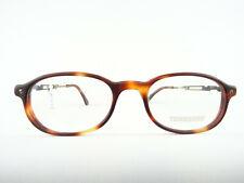 Ovale Brille in brauner Hornoptik  Marke TENNESSEE Herrenfassung klassisch Gr. S