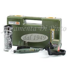 Micro incisore Engraving 12/18V + accessori vetro ceramica Proxxon GG12