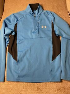 Mens Under Armour Blue Pullover Jacket Small S