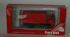 Herpa 820034 M. A. Netto Feuerwehr Lastra Piana Tela Fuoco Camion 1/87 Scala