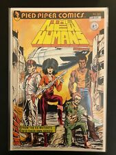 The New Humans 1 High Grade Pied Piper Comic Book CL58-120