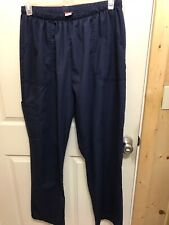 Denice 2xl Blue Scrub Pants