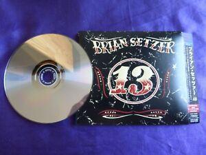 Brian Setzer - 13. CD Japan digipak with Bonus track & OBI. SHMCD