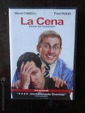 DVD LA CENA (DINNER FOR SCHMUCKS) -EDICIÓN DE ALQUILER - STEVE CARELL (4J)