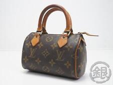 Sale AUTH PRE-OWNED LOUIS VUITTON LV MONOGRAM MINI SPEEDY HAND BAG M41534 170397