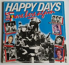 2LP Various ‎– Happy Days Are Here Again, Doris Day, Dinah Shore, Andrew Sisters